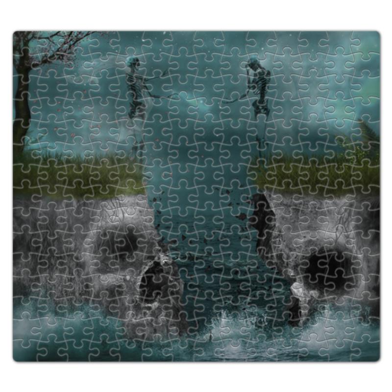Пазл магнитный 27.4 x 30.4 (210 элементов) Printio Dark art наколенник магнитный здоровые суставы