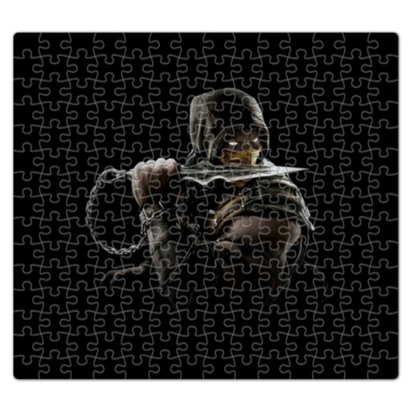 Пазл магнитный 27.4 x 30. (210 элементов) Printio Mortal kombat (scorpion)