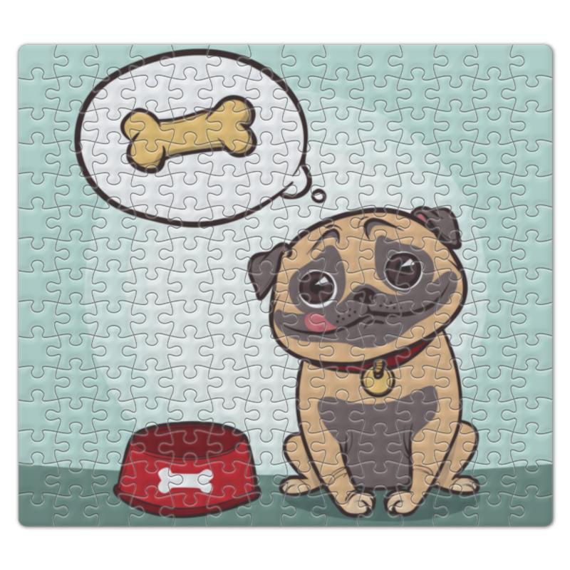 Пазл магнитный 27.4 x 30.4 (210 элементов) Printio Собака деревянный пазл oops собака 9 элементов