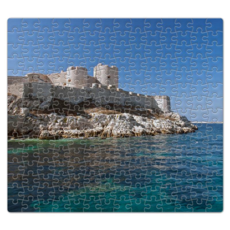 Пазл магнитный 27.4 x 30.4 (210 элементов) Printio Замок иф наколенник магнитный здоровые суставы