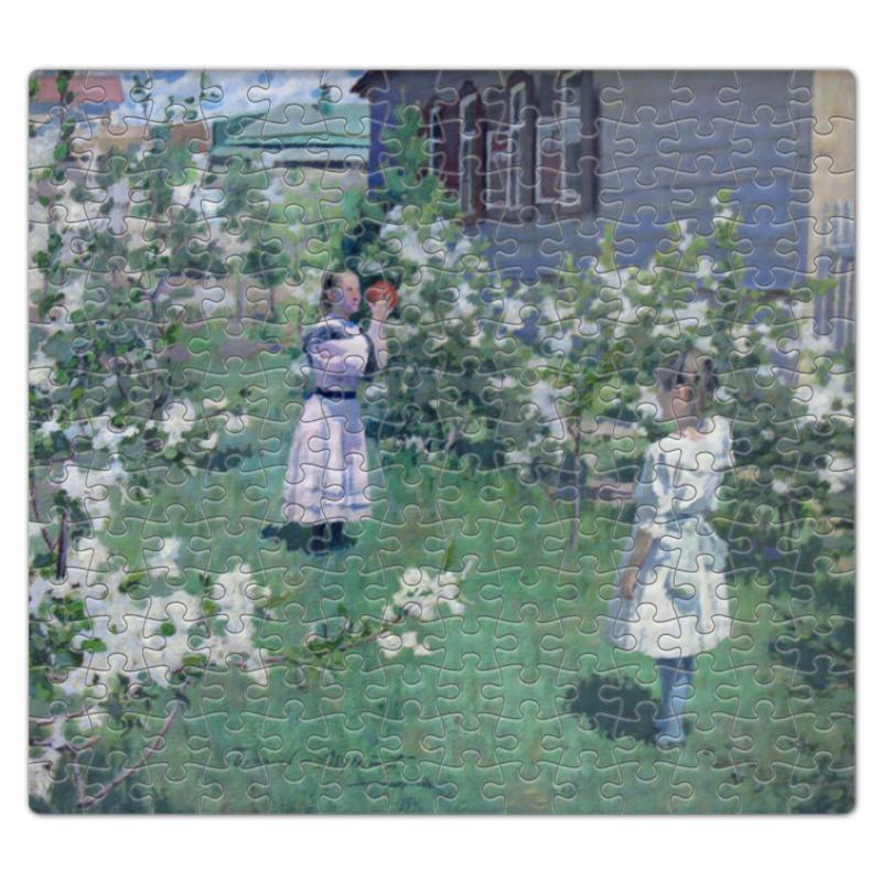 Пазл магнитный 27.4 x 30.4 (210 элементов) Printio Maйскиe цветы (виктор борисов-мусатов) как билет на борисов арену