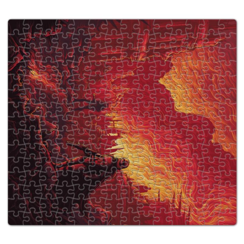 Пазл магнитный 27.4 x 30.4 (210 элементов) Printio Звездные войны цена
