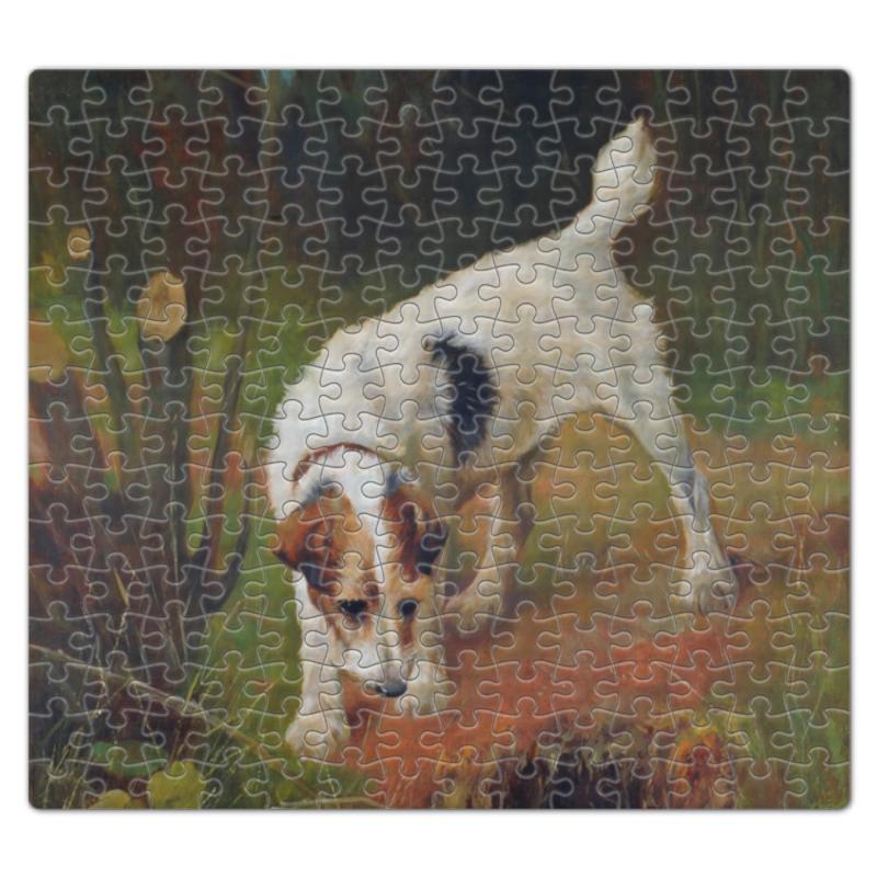 Пазл магнитный 27.4 x 30.4 (210 элементов) Printio 2018 год желтой земляной собаки пазл магнитный 27 4 x 30 4 210 элементов printio 2018 год собаки