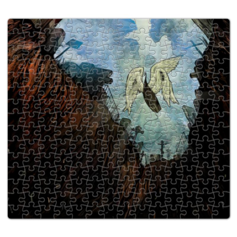 Пазл магнитный 27.4 x 30.4 (210 элементов) Printio Raven. жизнь после.