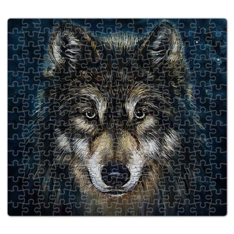Printio Волки фэнтези. седой волк