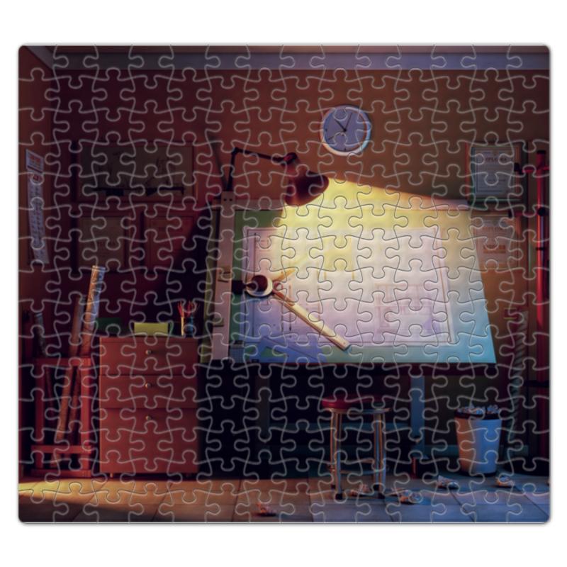 Пазл магнитный 27.4 x 30.4 (210 элементов) Printio Мастерская мастерская