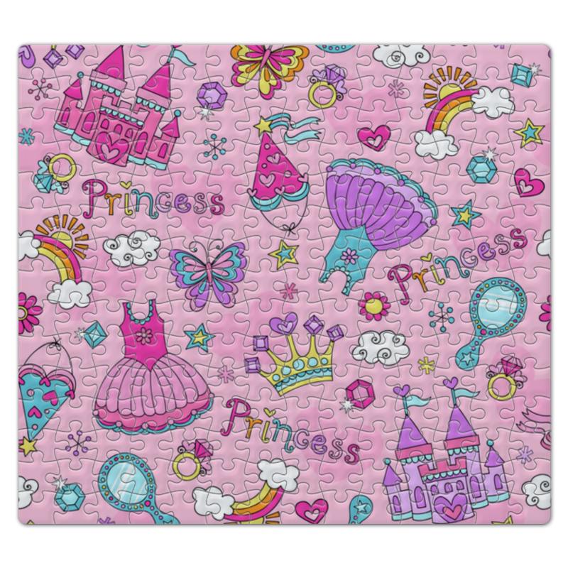 Пазл магнитный 27.4 x 30.4 (210 элементов) Printio Принцесса обучающая книга азбукварик секреты маленькой принцессы 9785402000568