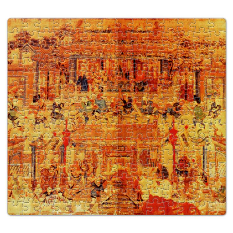 Пазл магнитный 27.4 x 30.4 (210 элементов) Printio Шаолинь наколенник магнитный здоровые суставы