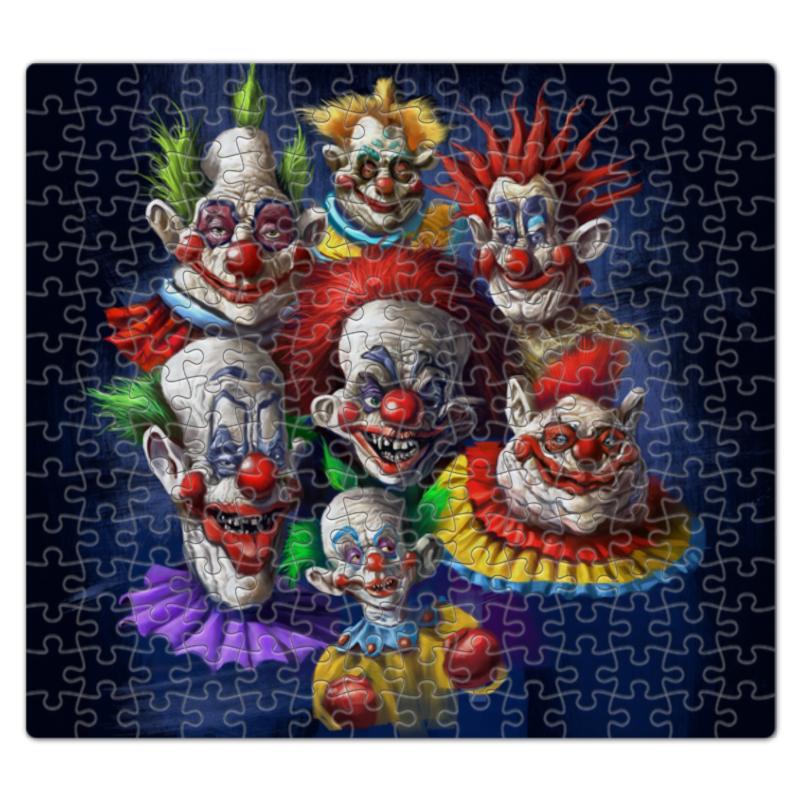 Пазл магнитный 27.4 x 30.4 (210 элементов) Printio Клоуны-злодеи