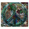 """Пазл магнитный 27.4 x 30.4 (210 элементов) """"пацифика"""" - пацифист"""