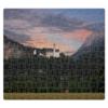 "Пазл магнитный 27.4 x 30.4 (210 элементов) ""Замок Нойшванштайн"" - германия, бавария, замок нойшванштайн, neuschwanstein"