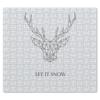 """Пазл магнитный 27.4 x 30.4 (210 элементов) """"Dear Deer"""" - рисунок, дизайн, олень, минимализм, рога"""