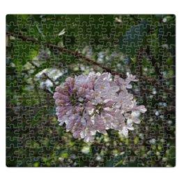 """Пазл магнитный 27.4 x 30.4 (210 элементов) """"Сирень"""" - лето, цветы, зелень, тепло, сирень"""