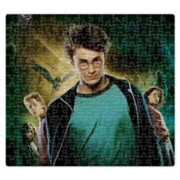 """Пазл магнитный 27.4 x 30.4 (210 элементов) """"Гарри Поттер"""" - harry potter, гарри поттер, хогвартс, волшебник, рэдклифф"""