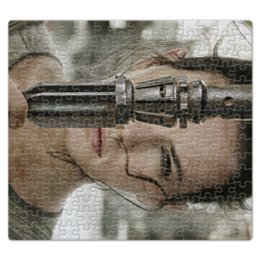 """Пазл магнитный 27.4 x 30.4 (210 элементов) """"Звездные войны - Рей"""" - кино, фантастика, star wars, звездные войны, дарт вейдер"""