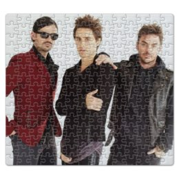 "Пазл магнитный 27.4 x 30.4 (210 элементов) ""30 Seconds To Mars"" - jared leto, 30 seconds to mars, echelon, shannon leto, tomo milicevic"
