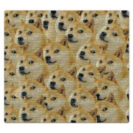 """Пазл магнитный 27.4 x 30.4 (210 элементов) """"Doge """" - doge, сиба-ину, доге, сиба"""