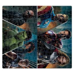 """Пазл магнитный 27.4 x 30.4 (210 элементов) """"Мстители"""" - комиксы, marvel, мстители, avengers, марвел"""
