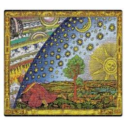 """Пазл магнитный 27.4 x 30.4 (210 элементов) """"Гравюра Фламмариона в Цвете"""" - мудрец, выход, звёздный, купол, земля плоская"""