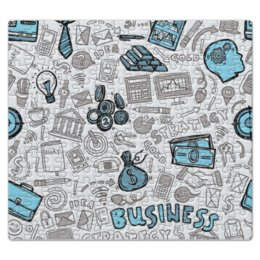 """Пазл магнитный 27.4 x 30.4 (210 элементов) """"Бизнес"""" - деньги, доллар, бизнес, dollar, яппи"""