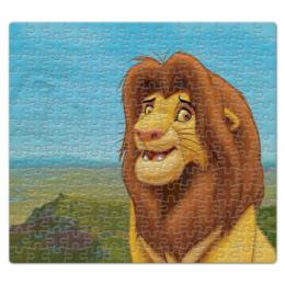 """Пазл магнитный 27.4 x 30.4 (210 элементов) """"Король лев"""" - король лев"""