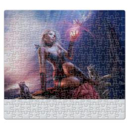 """Пазл магнитный 27.4 x 30.4 (210 элементов) """"фэнтэзи"""" - стиль, популярные, в подарок, оригинально"""