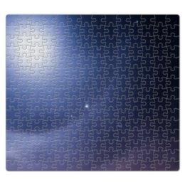 """Пазл магнитный 27.4 x 30.4 (210 элементов) """"Без названия"""" - космос, небо, луна, звёзды, галактика"""