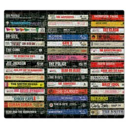 "Пазл магнитный 27.4 x 30.4 (210 элементов) ""Привет из 90-х!"" - музыка, compact cassette, компакт-кассета, 90's, ретро"