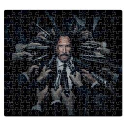 """Пазл магнитный 27.4 x 30.4 (210 элементов) """"Джон Уик"""" - актер, боевик, убийца, киану ривз, john wick"""