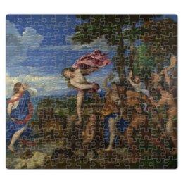 "Пазл магнитный 27.4 x 30.4 (210 элементов) ""Вакх и Ариадна (картина Тициана)"" - картина, тициан"