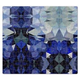 """Пазл магнитный 27.4 x 30.4 (210 элементов) """"Осколки. Релаксант."""" - белый, черный, синий"""