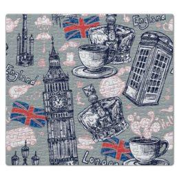"""Пазл магнитный 27.4 x 30.4 (210 элементов) """"Лондон"""" - корона, город, чай, путешествие"""
