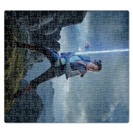 """Пазл магнитный 27.4 x 30.4 (210 элементов) """"Звездные войны - Рей"""" - звездные войны, фантастика, кино, дарт вейдер, star wars"""
