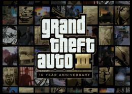 "Пазл магнитный 27.4 x 30.4 (210 элементов) ""Grand Theft Auto 3: 10 Year Anniversary"" - паззл"
