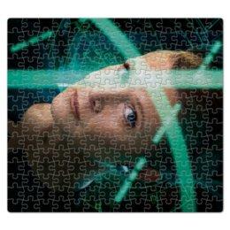 """Пазл магнитный 27.4 x 30.4 (210 элементов) """"Звездные войны - Лея"""" - кино, фантастика, star wars, звездные войны, дарт вейдер"""