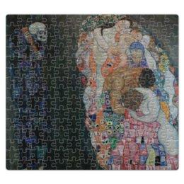 """Пазл магнитный 27.4 x 30.4 (210 элементов) """"Смерть и жизнь (Густав Климт)"""" - арт, картина, живопись, климт"""