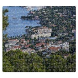 "Пазл магнитный 27.4 x 30.4 (210 элементов) ""Ницца"" - море, франция, вид, высота, ницца"