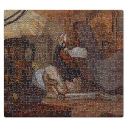 """Пазл магнитный 27.4 x 30.4 (210 элементов) """"Коллекция"""" - волк, робот, фантастика, иллюстрация, хоррор"""