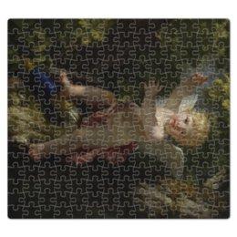 """Пазл магнитный 27.4 x 30.4 (210 элементов) """"Купидон на дереве (Ле Барбье Жан-Жак-Франсуа)"""" - картина, ле барбье"""
