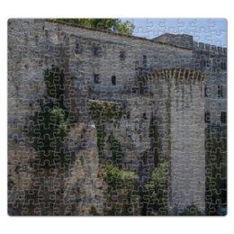 """Пазл магнитный 27.4 x 30.4 (210 элементов) """"Стена вокруг города Авиньон"""" - франция, история, путешествие, крепость, прованс"""