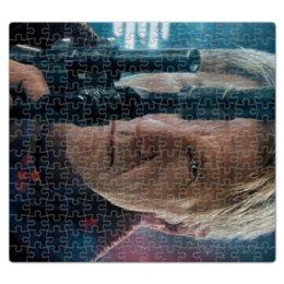 """Пазл магнитный 27.4 x 30.4 (210 элементов) """"Звездные войны - Хан Соло"""" - кино, фантастика, star wars, звездные войны, дарт вейдер"""