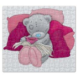 "Пазл магнитный 27.4 x 30.4 (210 элементов) ""Мишка тедди"" - teddy bear, мишка тедди"