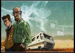 "Пазл магнитный 27.4 x 30.4 (210 элементов) ""Breaking Bad / Во Все Тяжкие"" - puzzle, пазл, во все тяжкие, breaking bad"