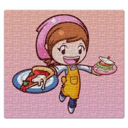 "Пазл магнитный 27.4 x 30.4 (210 элементов) ""Cooking mama"" - кукинг мама, cooking mama"