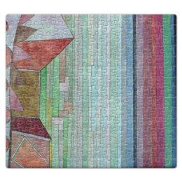 "Пазл магнитный 27.4 x 30.4 (210 элементов) ""Вид на плодородную страну (картина Клее)"" - картина, живопись, авангард, клее"