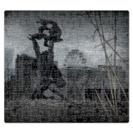 """Пазл магнитный 27.4 x 30.4 (210 элементов) """"Call of Pripyat """" - сталкер, stalker, call of pripyat, зов припяти"""