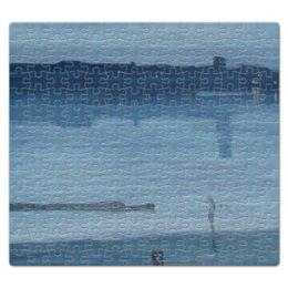 """Пазл магнитный 27.4 x 30.4 (210 элементов) """"Ноктюрн в синем и серебряном — Челси"""" - картина, джеймс уистлер"""