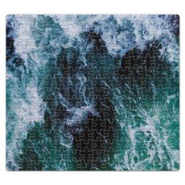 """Пазл магнитный 27.4 x 30.4 (210 элементов) """"Бескрайнее море"""" - море, счастье, фантазия, прибой, shrimps"""