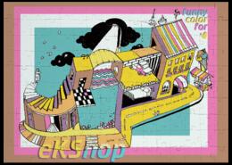 """Пазл магнитный 27.4 x 30.4 (210 элементов) """"Magic-City"""" - игра, популярные, в подарок, лабиринт, funny, детям, оригинально, magic, city, пазлы"""