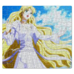 """Пазл магнитный 27.4 x 30.4 (210 элементов) """"Не сдавайся! / Skip Beat!"""" - аниме, манга, персонаж из аниме, могами кёко"""
